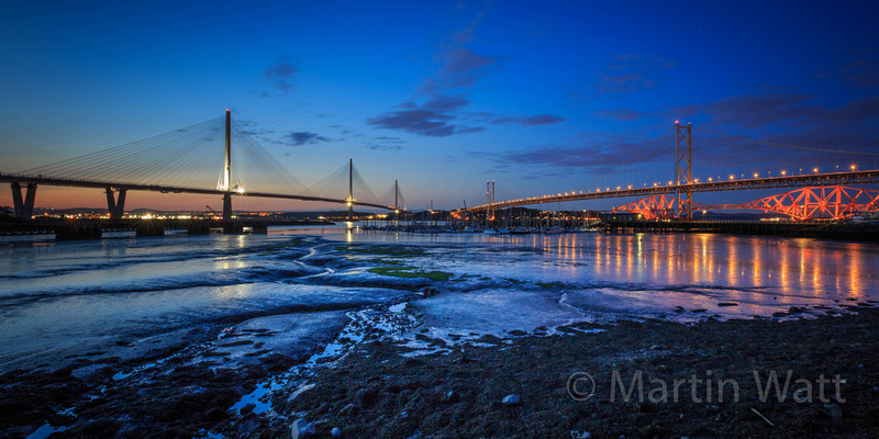 Three Queensferry Crossings